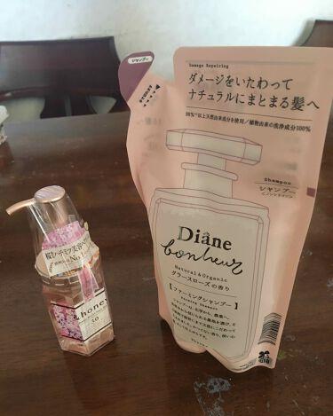 ダイアンボヌールダメージリペアシャンプー/トリートメント グラースローズの香り/モイスト・ダイアン/シャンプー・コンディショナーを使ったクチコミ(3枚目)