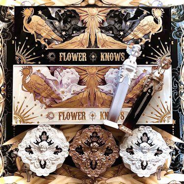 リトルエンジェル12色アイシャドウパレット/FlowerKnows/パウダーアイシャドウを使ったクチコミ(1枚目)
