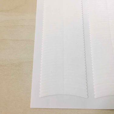 のび〜る アイテープ 両面テープタイプ/DAISO/二重まぶた用アイテムを使ったクチコミ(3枚目)