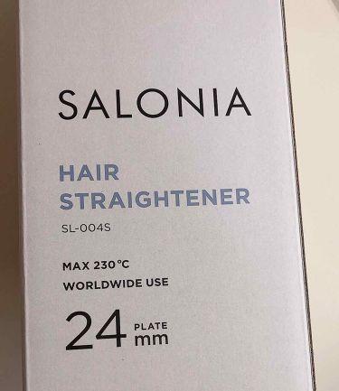 SALONIA ストレートアイロン/SALONIA/ヘアケア美容家電を使ったクチコミ(3枚目)