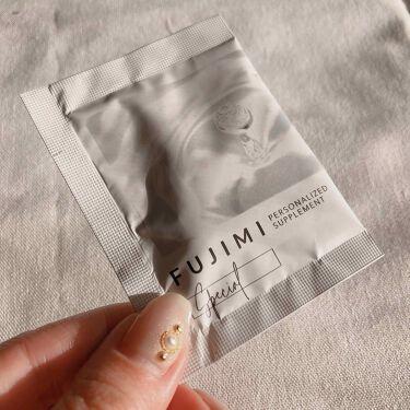パーソナライズサプリメント「FUJIMI(フジミ)」/FUJIMI/健康サプリメントを使ったクチコミ(3枚目)