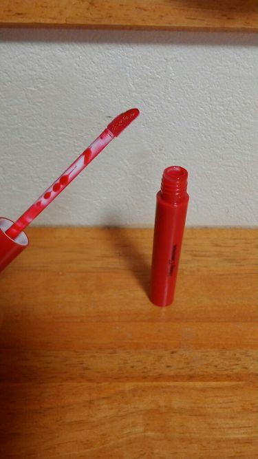 Popteen2019年1月号付録 Honey Cinnamonティントリップ/Popteen /口紅を使ったクチコミ(2枚目)