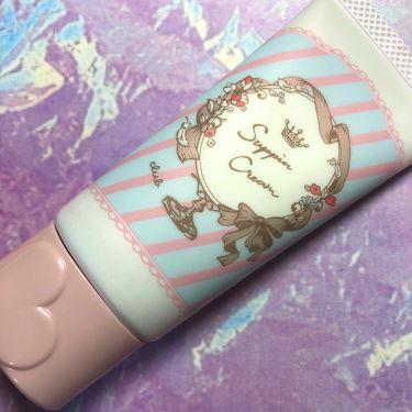 【画像付きクチコミ】クラブすっぴんクリーム*°マシュマロマット▹▸パステルローズの香り薄ピンク色の下地クリームで肌の血色を程よくしてくれます。付けたまま寝ることが出来るのでお泊まりなどに最適です。塗るとローズのいい香りがして気分も上がります☺︎