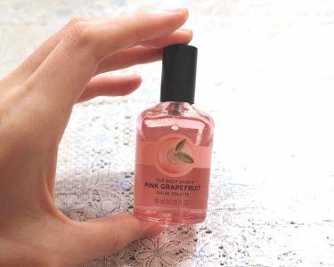 オードトワレ ピンクグレープフルーツ/THE BODY SHOP/香水(レディース)を使ったクチコミ(1枚目)