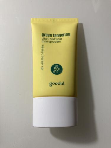 vita C dark spot tone up cream/goodal/化粧下地を使ったクチコミ(3枚目)