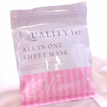 オールインワンシートマスク モイストEX/クオリティファースト/シートマスク・パックを使ったクチコミ(2枚目)