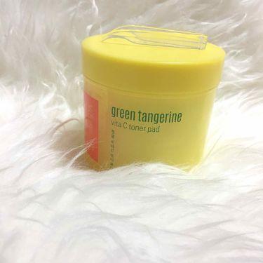 グーダル グリーンタンジェリンビタCパッド/CLIO/シートマスク・パックを使ったクチコミ(1枚目)