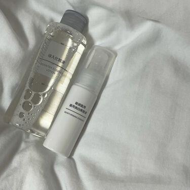 【画像付きクチコミ】無印良品導入化粧液は、あとの化粧水がぐんぐん浸透しているようです!お肌への潤いも与えてくれます~🌱美容液は、しっとりクリームで、保湿力ばっちりです🌱✨ビタミンC誘導体が配合されていて、美肌に近づけちゃいますね、、✨いまは、・拭きとり化...