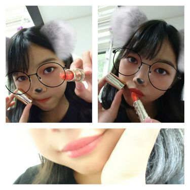オイルインカラーリップ/jelly Kiss(ジェリキス)/口紅を使ったクチコミ(2枚目)