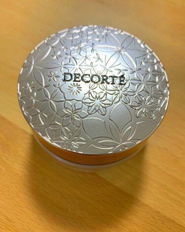 フェイスパウダー/COSME DECORTE/ルースパウダーを使ったクチコミ(1枚目)