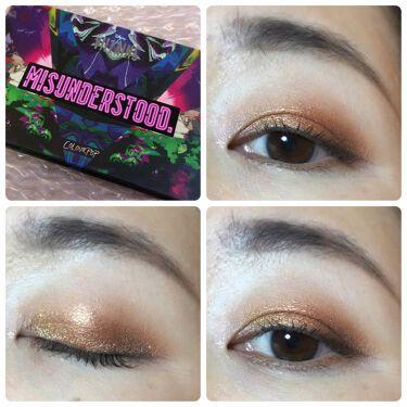Misunderstood Moody Colorful Eyeshadow Palette/ColourPop/パウダーアイシャドウを使ったクチコミ(1枚目)