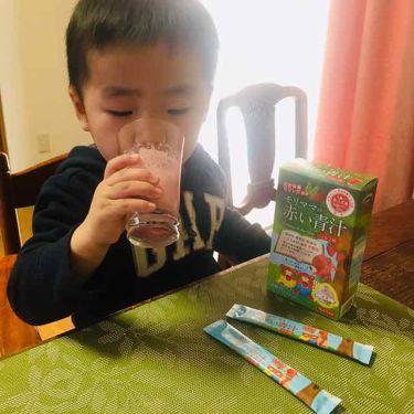 Rie_beauty on LIPS 「\息子の大好きな赤い青汁/マイナチュラモリママの赤い青汁.こち..」(3枚目)