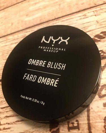 オンブレ ブラッシュ/NYX Professional Makeup/パウダーチークを使ったクチコミ(1枚目)