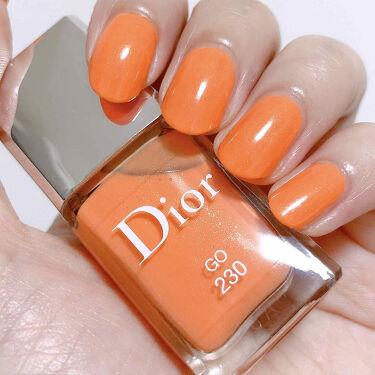 ディオール ヴェルニ (サマー コレクション2020 限定色)/Dior/マニキュアを使ったクチコミ(1枚目)