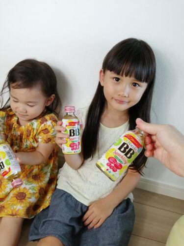 27歳2児のママ!フォロバ100%★ on LIPS 「ショコラBBスパークリングキウイ&レモン味をお試しさせてもらい..」(1枚目)