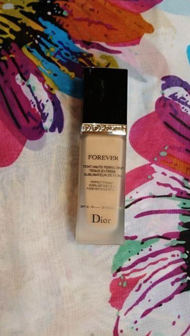 ディオールスキン フォーエヴァー フルイド/Dior/リキッドファンデーションを使ったクチコミ(3枚目)