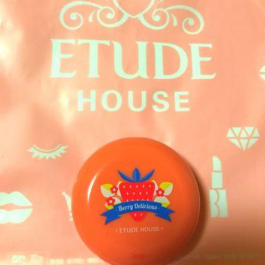 ベリーデリシャス クリームチーク/ETUDE HOUSE/ジェル・クリームチークを使ったクチコミ(1枚目)