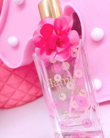 ラモ フロール  オーデコロン スウィートラウンドブーケの香り/ラブアンドピースパルファム/香水(レディース)を使ったクチコミ(1枚目)