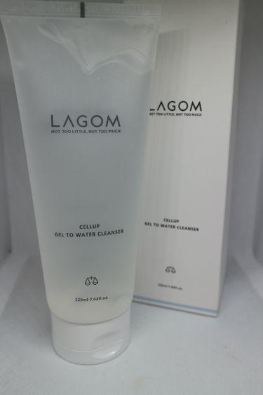 ジェルトゥウォーター クレンザー/LAGOM /洗顔フォームを使ったクチコミ(1枚目)
