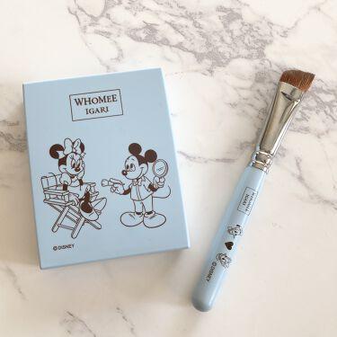 アイブロウブラシ 熊野筆/WHOMEE/メイクブラシを使ったクチコミ(7枚目)