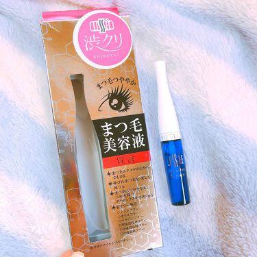 Mirukuさんの「渋クリ リセまつ毛美容液<まつげ美容液>」を含むクチコミ