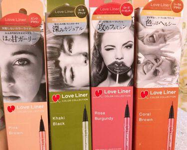 はるさんの「msh(エム・エス・エイチ)ラブライナー カラーコレクション<リキッドアイライナー>」を含むクチコミ