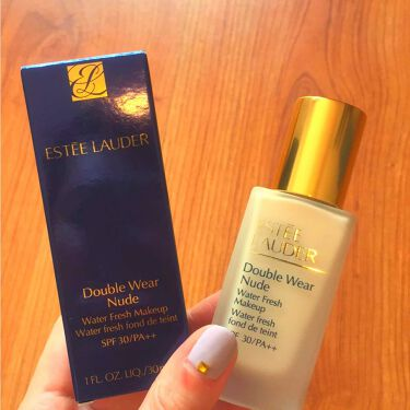 エスティ ローダー ESTEE LAUDER Double Wear Nude Water fresh Makeup