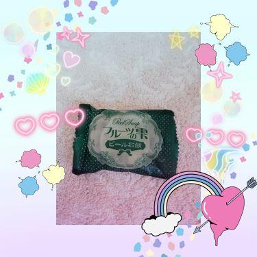 枠練り石鹸/menina joue(メニーナ ジュー)/洗顔石鹸を使ったクチコミ(1枚目)