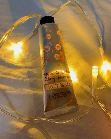 チェリーブロッサム ソフトハンドクリーム/L'OCCITANE/ハンドクリーム・ケアを使ったクチコミ(1枚目)