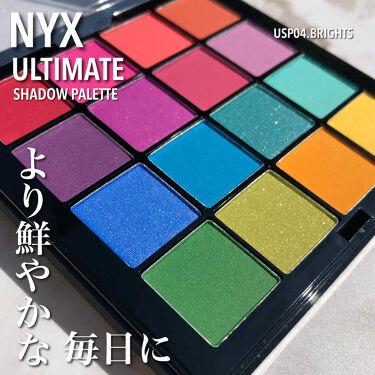 UT シャドウ パレット/NYX Professional Makeup/パウダーアイシャドウ by 社畜系女子