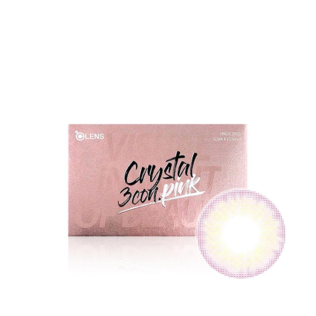 CRYSTAL (クリスタル) 3コンピンク