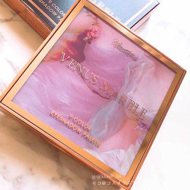 アイシャドウパレット 9色/Venus Marble(ヴィーナスマーブル)/パウダーアイシャドウを使ったクチコミ(1枚目)