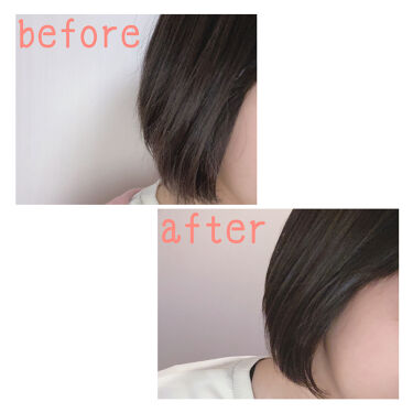 【画像付きクチコミ】✧*髪のパサつき、ダメージケア✧*/こんにちは!!妃菜です🐥私がいつも使っているヘアミルクを紹介します!!୨୧SSビオリスボタニカルトリートメントミルク୨୧2枚目の写真は、ヘアアイロンをした後の髪(before)、ヘアミルクを使った...