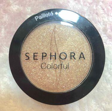 Sephora Colorful Eyeshadow /SEPHORA/パウダーアイシャドウを使ったクチコミ(1枚目)