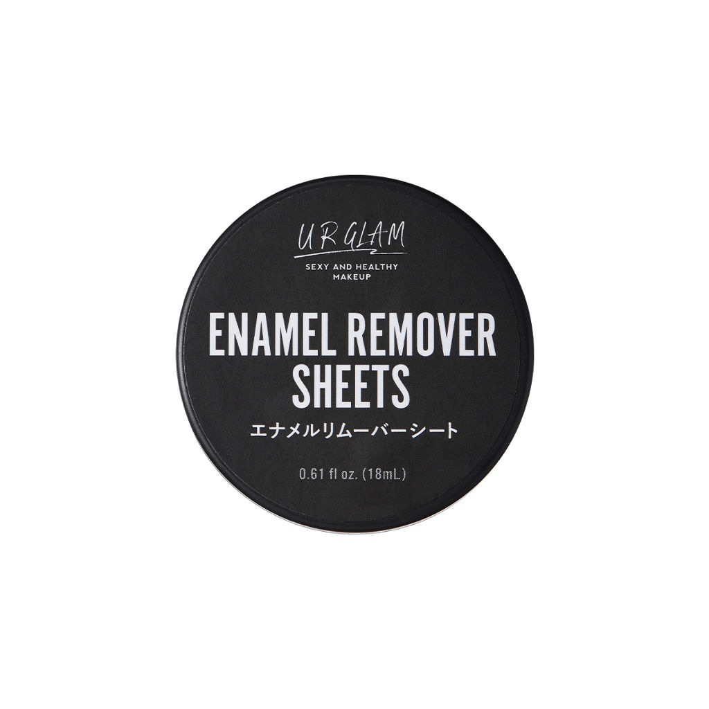UR GLAM ENAMEL REMOVER SHEETS(エナメルリムーバーシート) DAISO