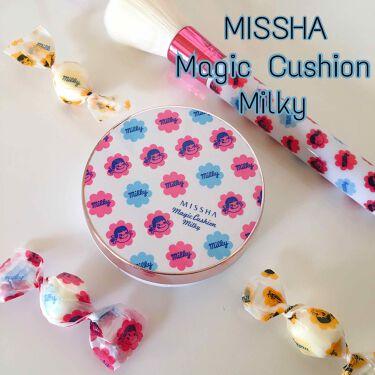 M クッションベース(ミルキー)/MISSHA/化粧下地を使ったクチコミ(1枚目)