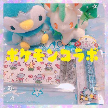 【画像付きクチコミ】イッツデモのポケモンコラボが今年も来たーーー!!✨✨✨✨✨✨✨何を隠そう実は私は大のポケモンオタク!!!😂わーーい!やったー!!今年の夏もポケモンコスメが買えるーー!!!しかも私の大好きな水ポケモンだーー!!!✨✨ポッチャマだ!!タッ...