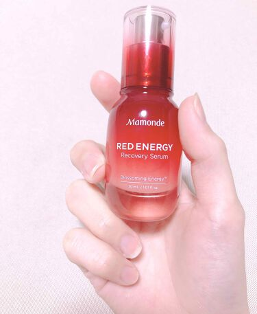 Mamonde Red Energy Recovery Serum/Mamonde/美容液を使ったクチコミ(1枚目)