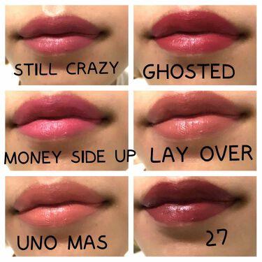 LUX LIPSTICKS/ColourPop/口紅を使ったクチコミ(3枚目)