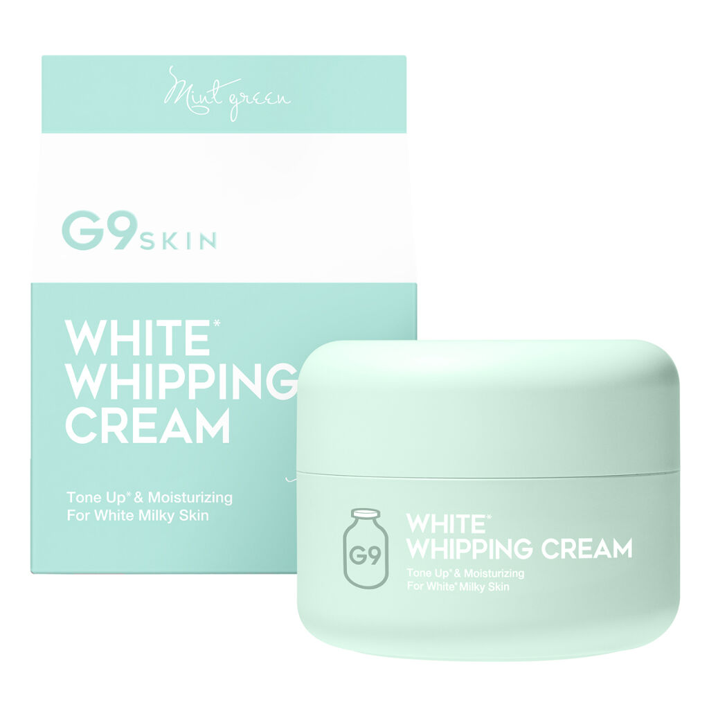 WHITE WHIPPING CREAM(ウユクリーム) ミントグリーン