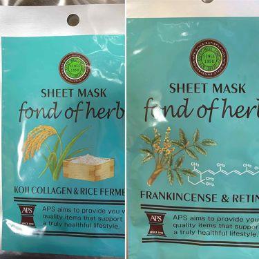 シートマスク(フランキンセンス×レチノール)/APS/シートマスク・パックを使ったクチコミ(1枚目)