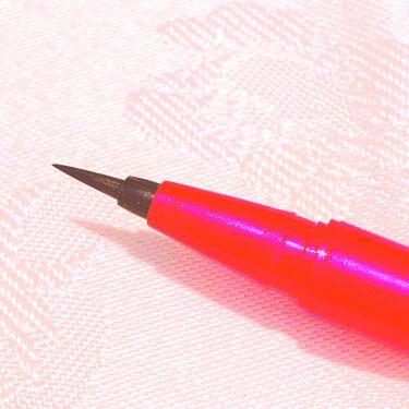 密着アイライナー ラスティンファイン 筆ペンリキッド/デジャヴュ/リキッドアイライナーを使ったクチコミ(2枚目)