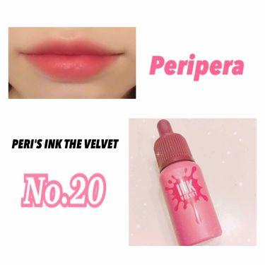 インク ベルベット/PERIPERA/口紅を使ったクチコミ(2枚目)