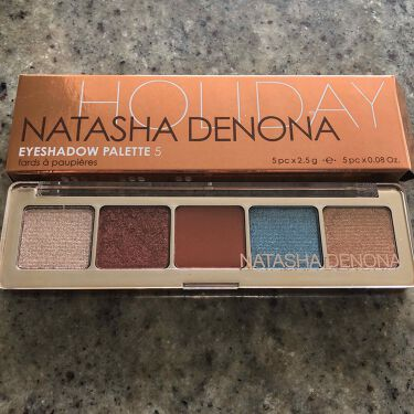 Eyeshadow Palette 5/Natasha Denona/パウダーアイシャドウを使ったクチコミ(3枚目)