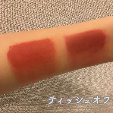 ゼロベルベットティント/rom&nd/口紅を使ったクチコミ(3枚目)