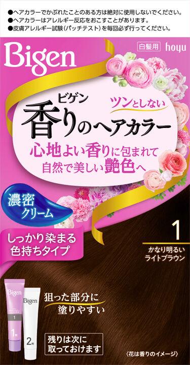 2016/9/1(最新発売日: 2021/10/1)発売 ビゲン 香りのヘアカラー クリーム