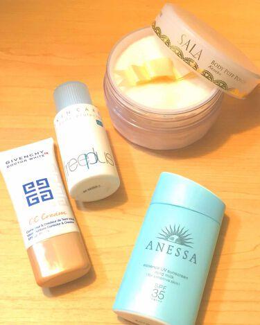 ボディパフパウダーN UV(サラの香り)/SALA/その他ボディケアを使ったクチコミ(1枚目)