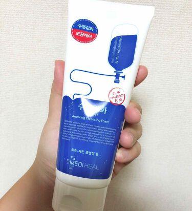 クレンジングフォーム n.m.f/MEDIHEAL/洗顔フォームを使ったクチコミ(2枚目)