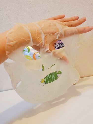 ワフードメイド 宇治抹茶マスク/pdc/シートマスク・パックを使ったクチコミ(3枚目)