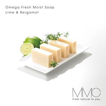 オメガフレッシュモイストソープ/MiMC/洗顔石鹸を使ったクチコミ(1枚目)
